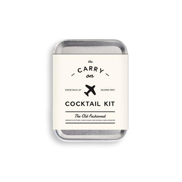 Carry On Cocktail Kit - Old Fashioned, W&P Design - Gingerly Witty