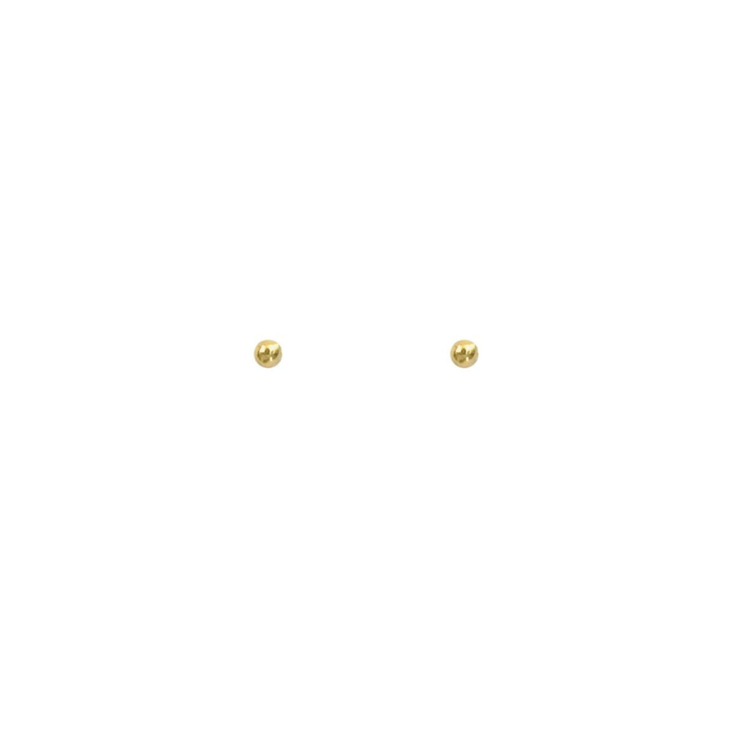 Stud Earring Card - 14k Gold Stud Mix, Thatch - Gingerly Witty