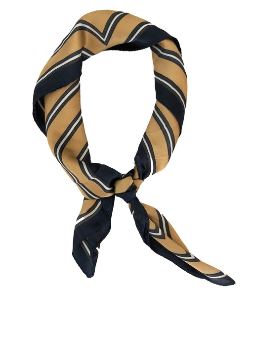 *PRE-ORDER* Marvelous Miss Bandana - Gold & Navy, Headbands of Hope - Gingerly Witty
