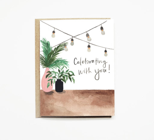 Backyard Celebration Card Pen + Pillar Gingerly Witty