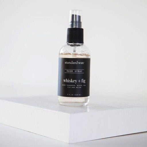 Whiskey + Fig Room Spray - 4oz; Standard Wax