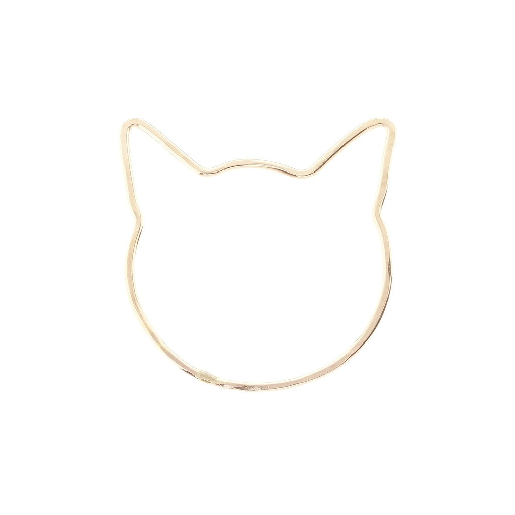 The Ollie Cat Ring: 14k Yellow Gold-Filled One Six Five Jewelry Gingerly Witty