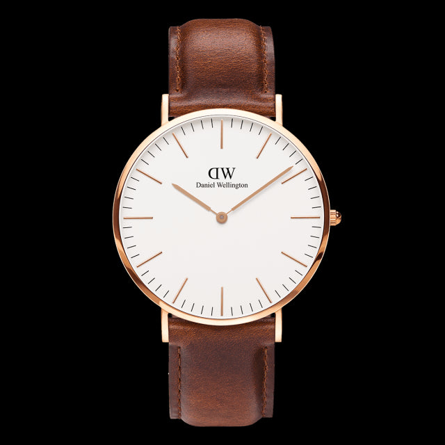 St. Mawes Watch | 40mm, Daniel Wellington - Gingerly Witty