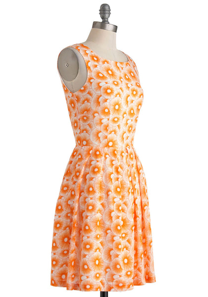 The California Poppies Dress - Size XL, Gingerly Witty - Gingerly Witty