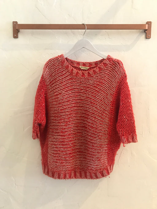 Miss Selfridge Chunky Pullover Red Sweater - Size 4