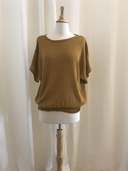 """The Sunflower""Knit Sweater - Size M"