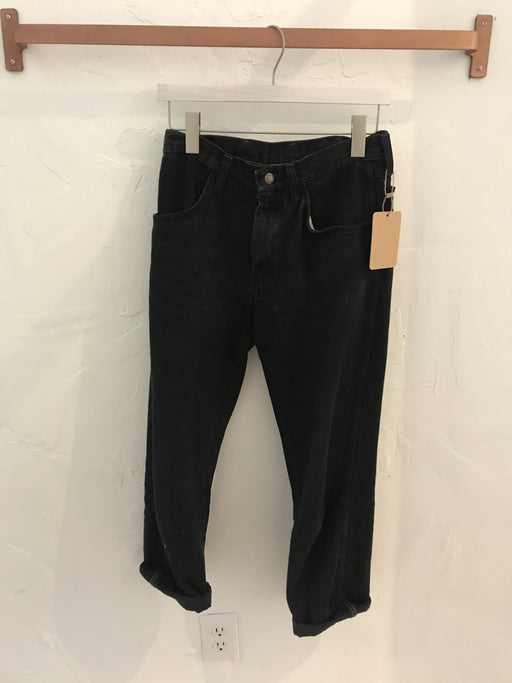 Rustler High-Waisted Black Mom Jeans - Modern Size 27, Gingerly Witty - Gingerly Witty
