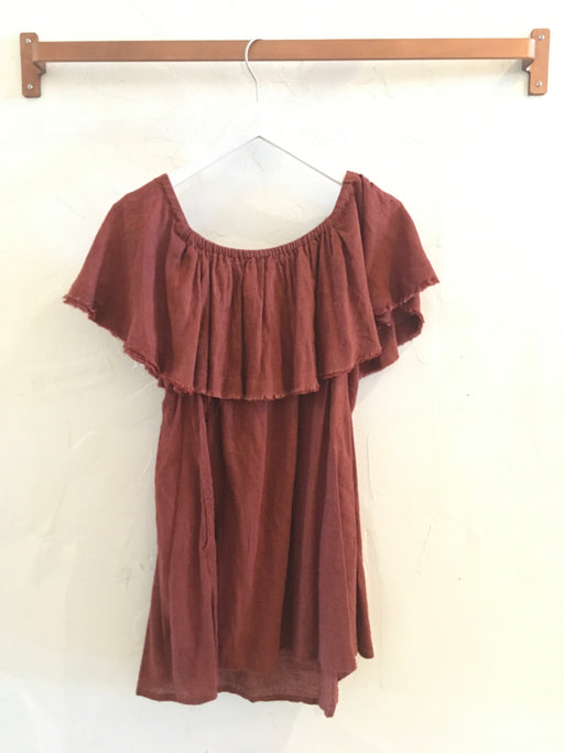 Free People Off-the-Shoulder Tunic - Size XS, Gingerly Witty - Gingerly Witty