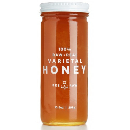 Raw Maine Blueberry Honey, Bee Raw - Gingerly Witty