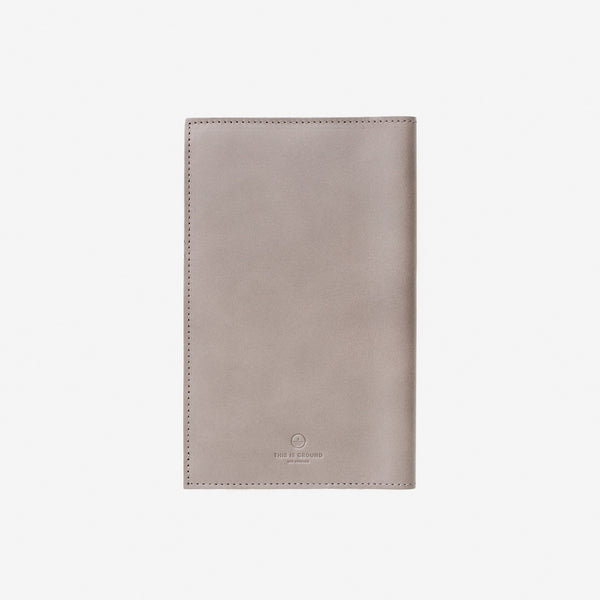 Medium Notebook Holder - French Grey, This Is Ground - Gingerly Witty