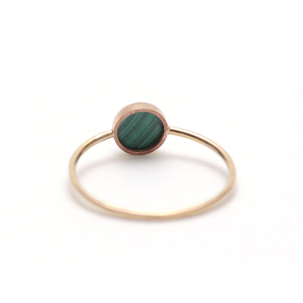 Gumdrop Ring - Malachite, Favor - Gingerly Witty