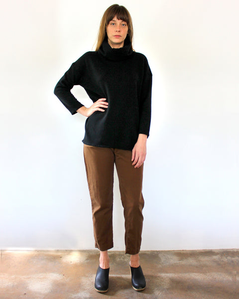 St. Ann Turtleneck - Gingerly Witty
