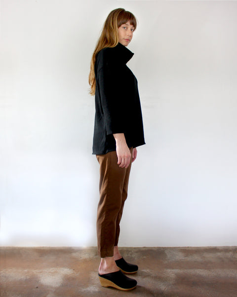 St. Ann Turtleneck, Esby - Gingerly Witty