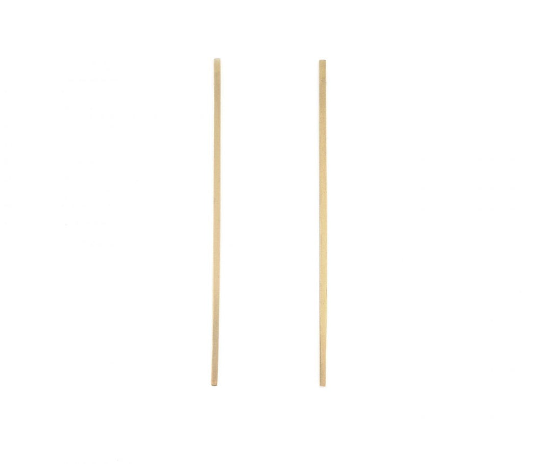 Stella Earring 14k Gold Vermeil, Thatch - Gingerly Witty