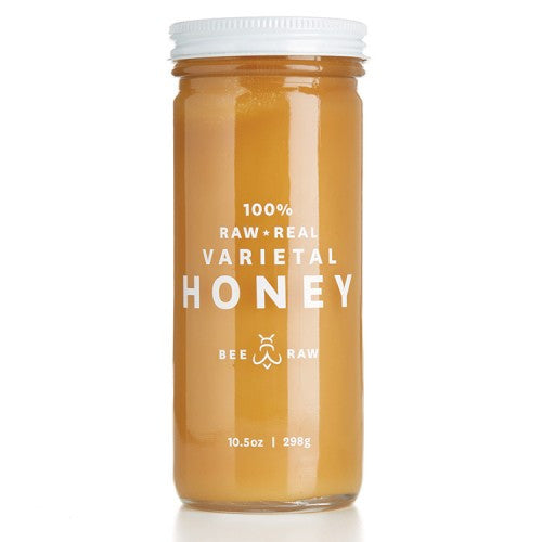 Raw Colorado Sweet Yellow Clover Honey, Bee Raw - Gingerly Witty
