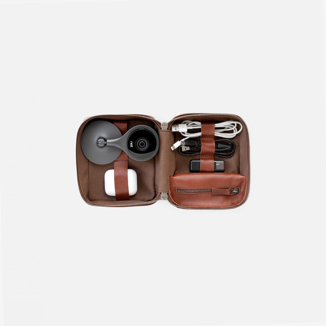 Mini Tech Drop Kit - Cognac, This Is Ground - Gingerly Witty