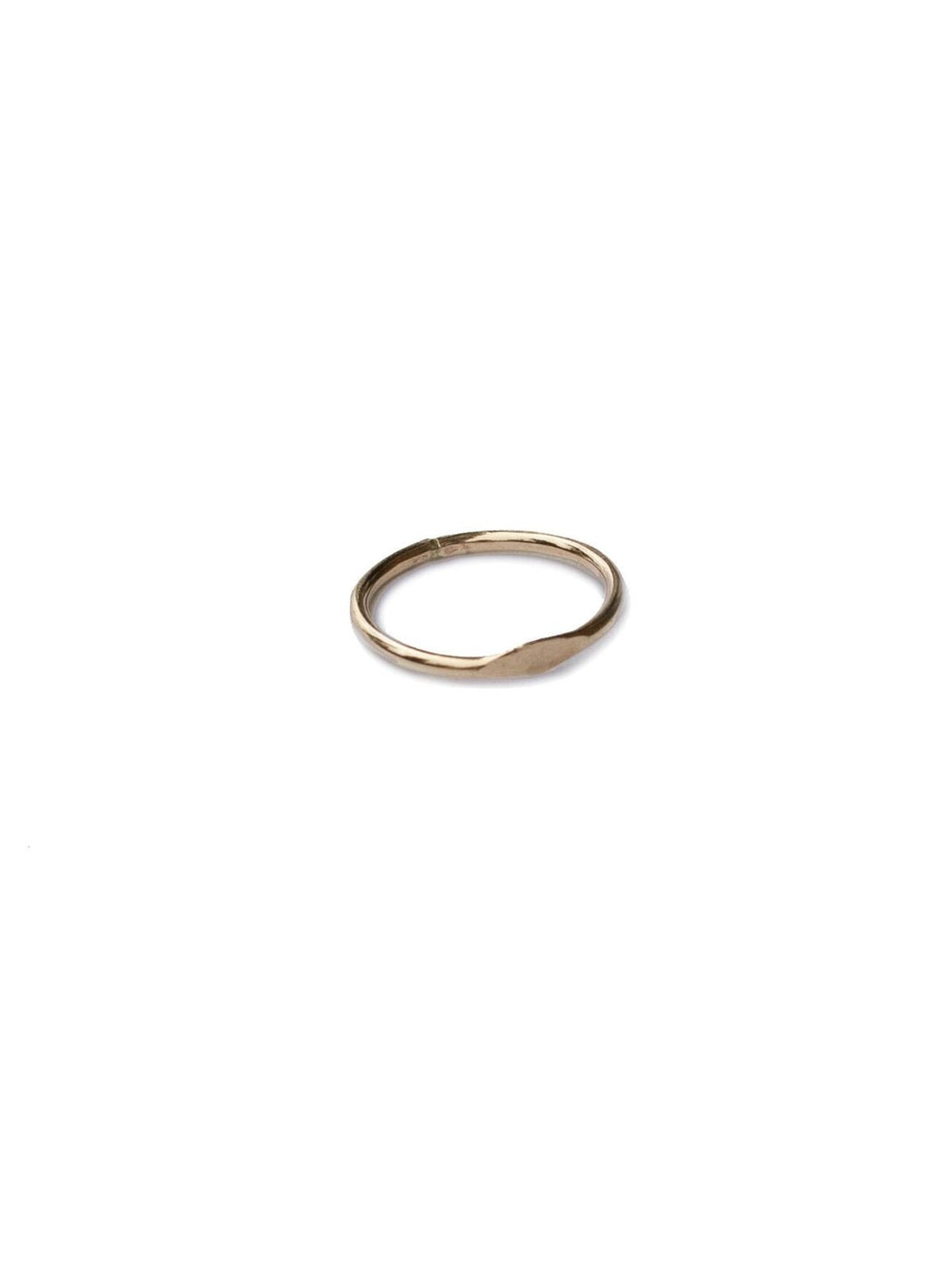 Plateau Ring Gold Gingerly Witty