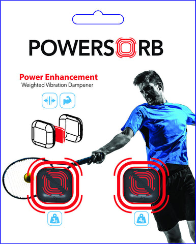 POWERSORB TENNIS Vibration Dampener Pack - <b>3G/4G</b>