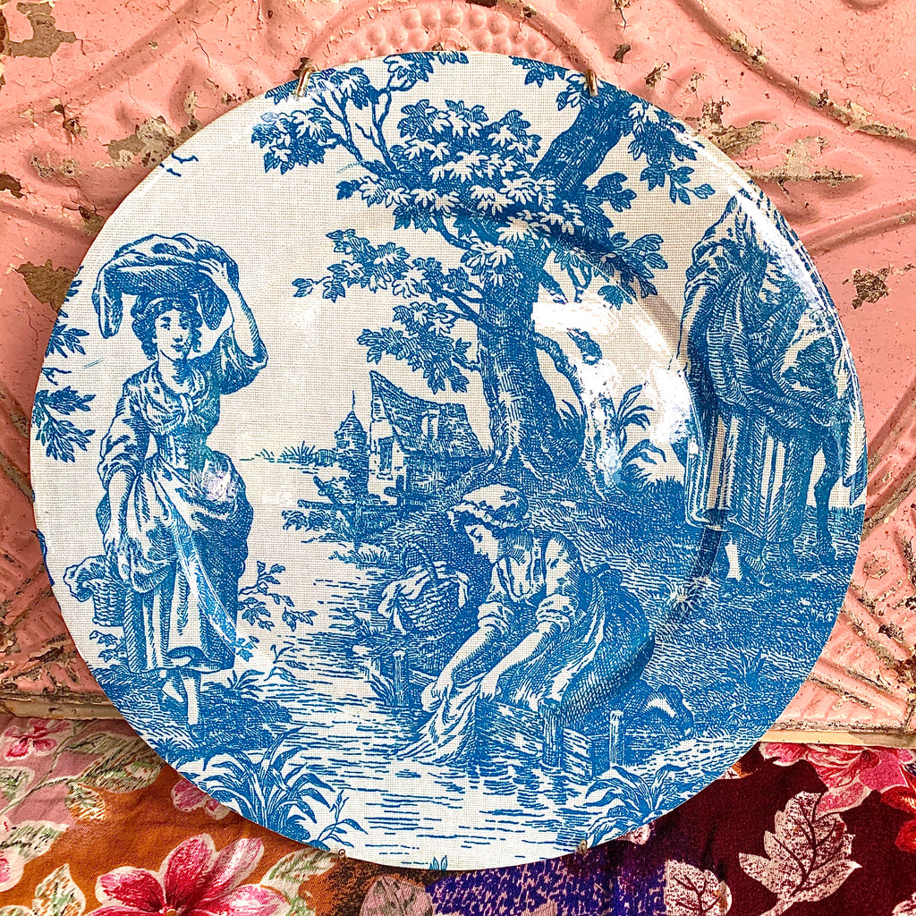 Resin Toile Print Plate- Design 1