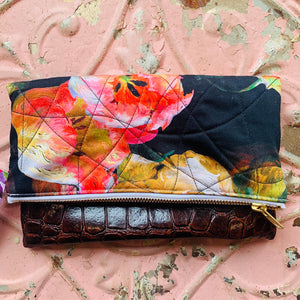 The Fold Over Clutch- 3 Different Ways