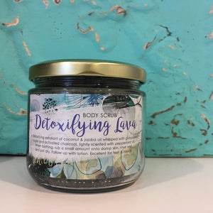 Detoxifying Lava Body Scrub