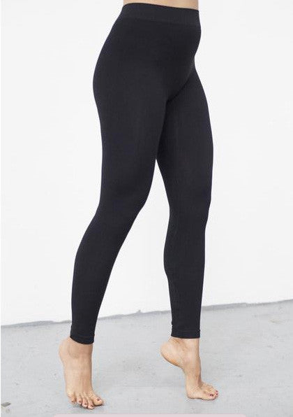 Bamboo Leggings-Black