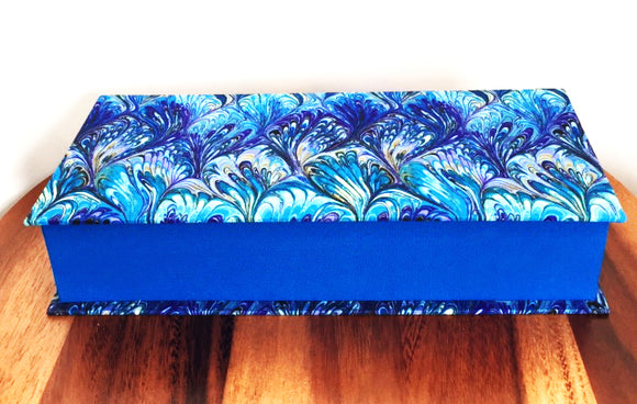 Royal Blue Keepsake Box