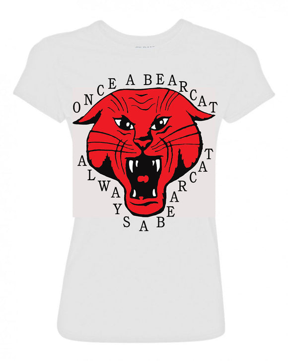 Once A Beacat Always A Bearcat Ladies T-Shirt