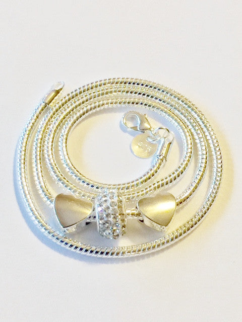 Charm Necklace (Starter) .925 Silver