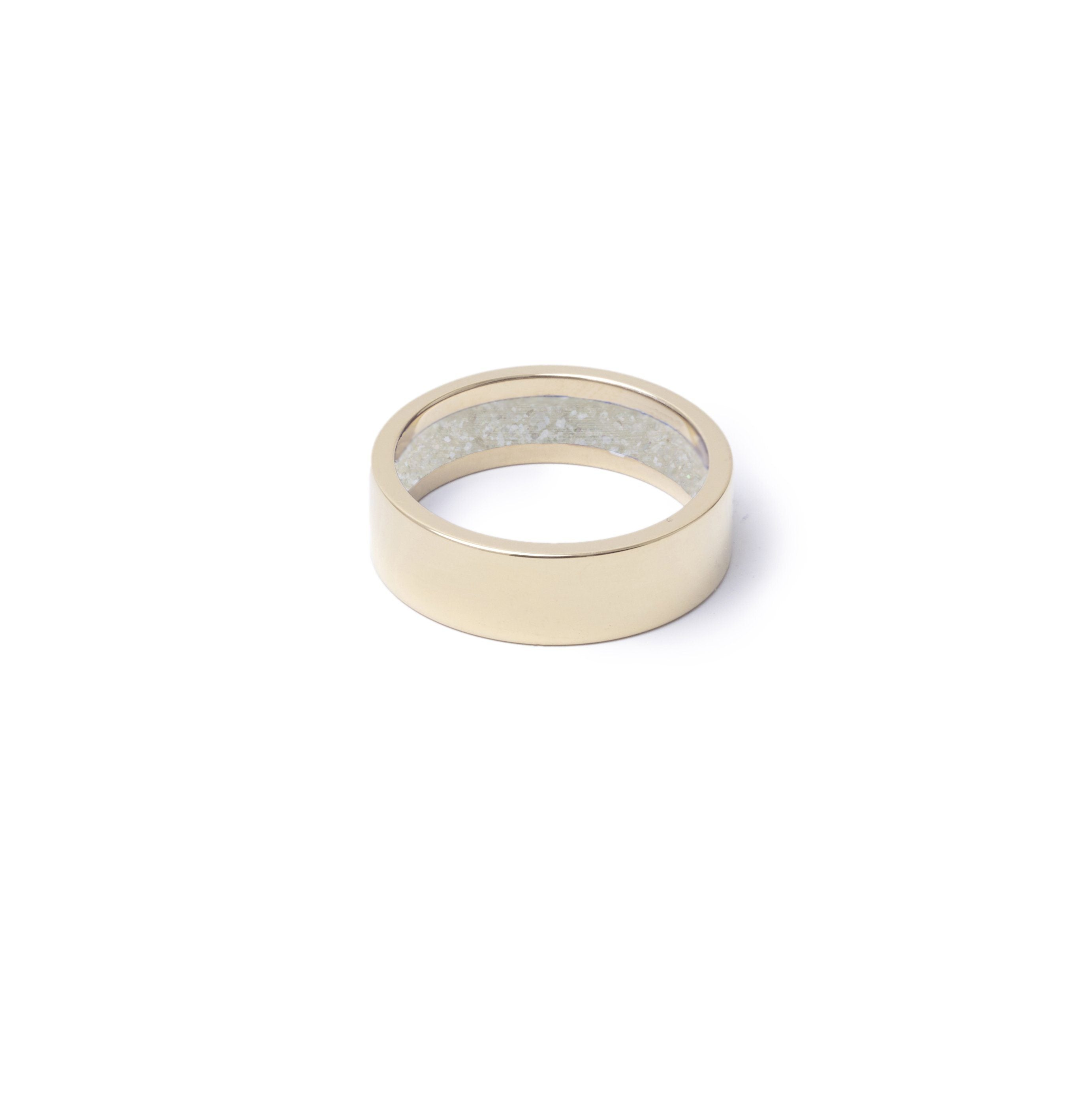 Everence Ring, 10k Yellow Gold everence.life 6mm Pearl