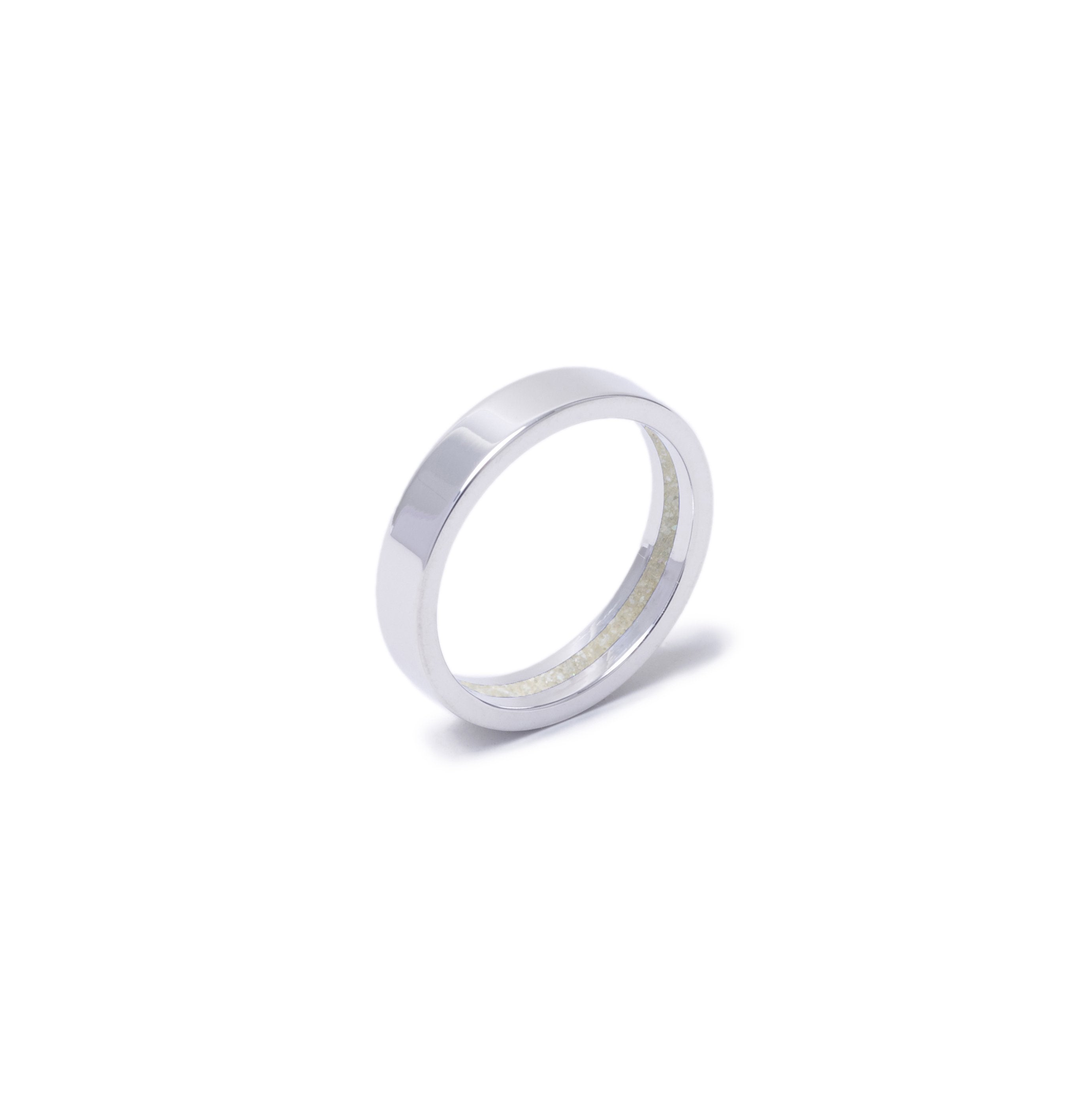 Everence Ring, 10k White Gold everence.life 4mm Pearl