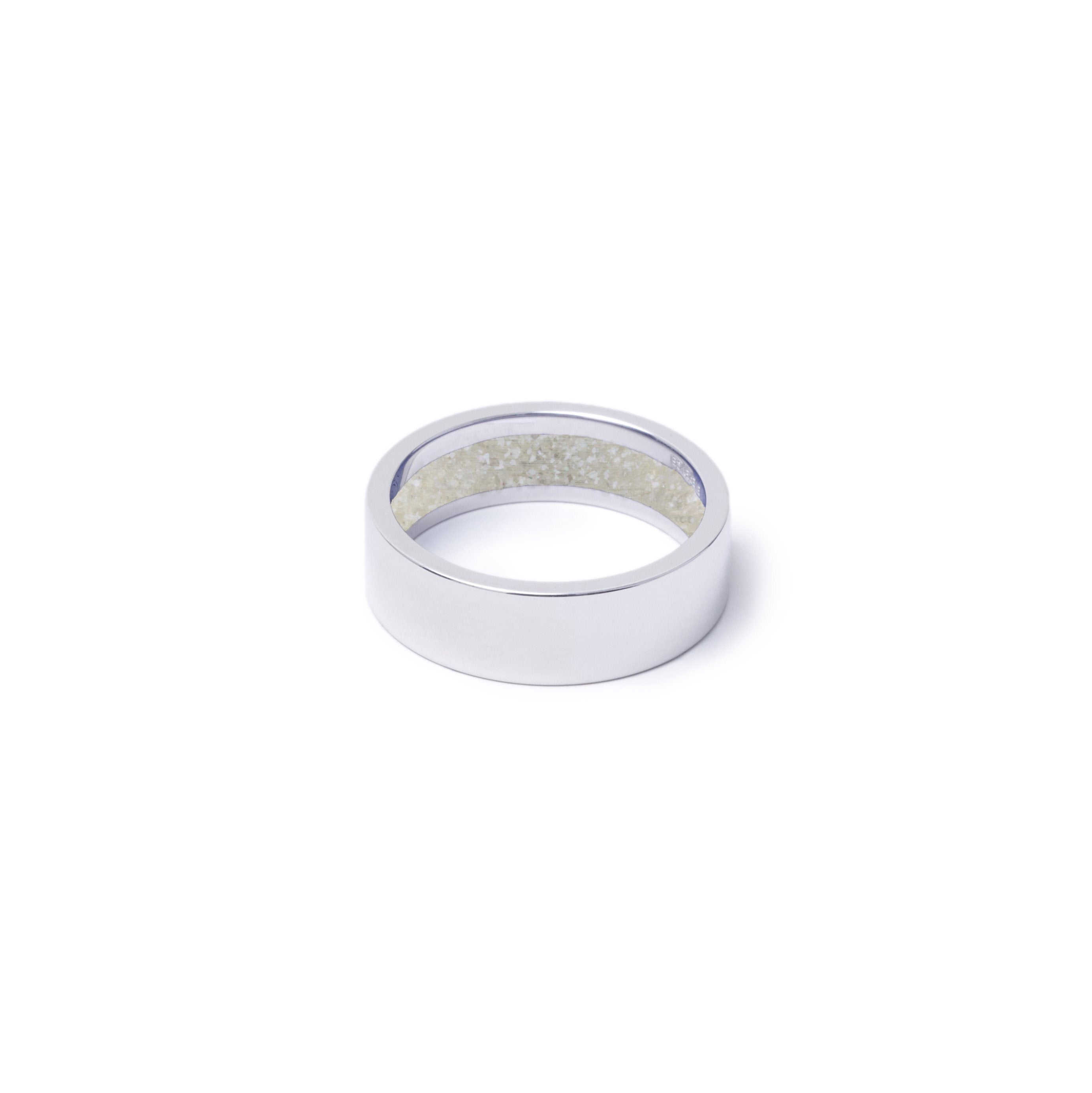 Everence Ring, 10k White Gold everence.life 6mm Pearl