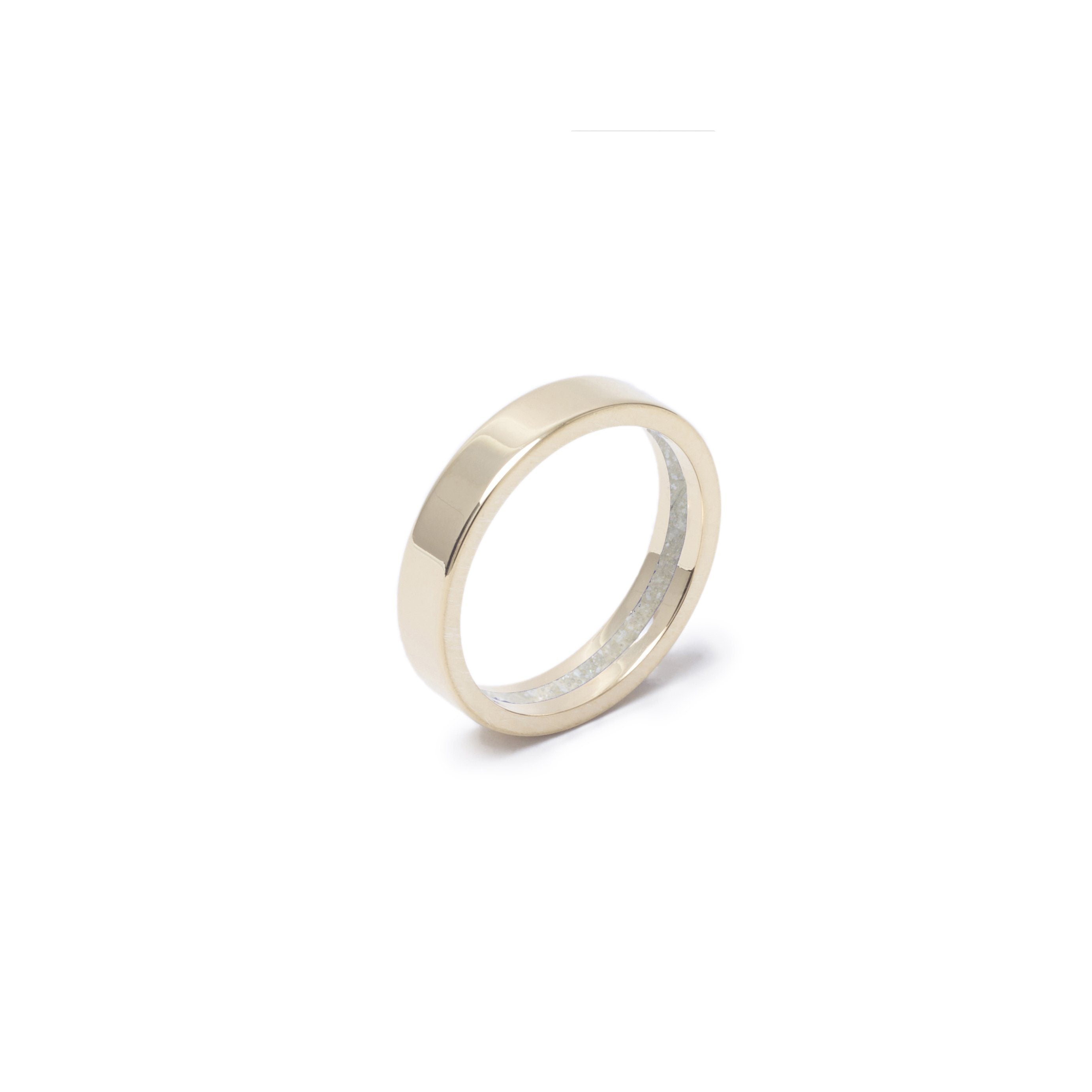 Everence Ring, 10k Yellow Gold everence.life 4mm Pearl