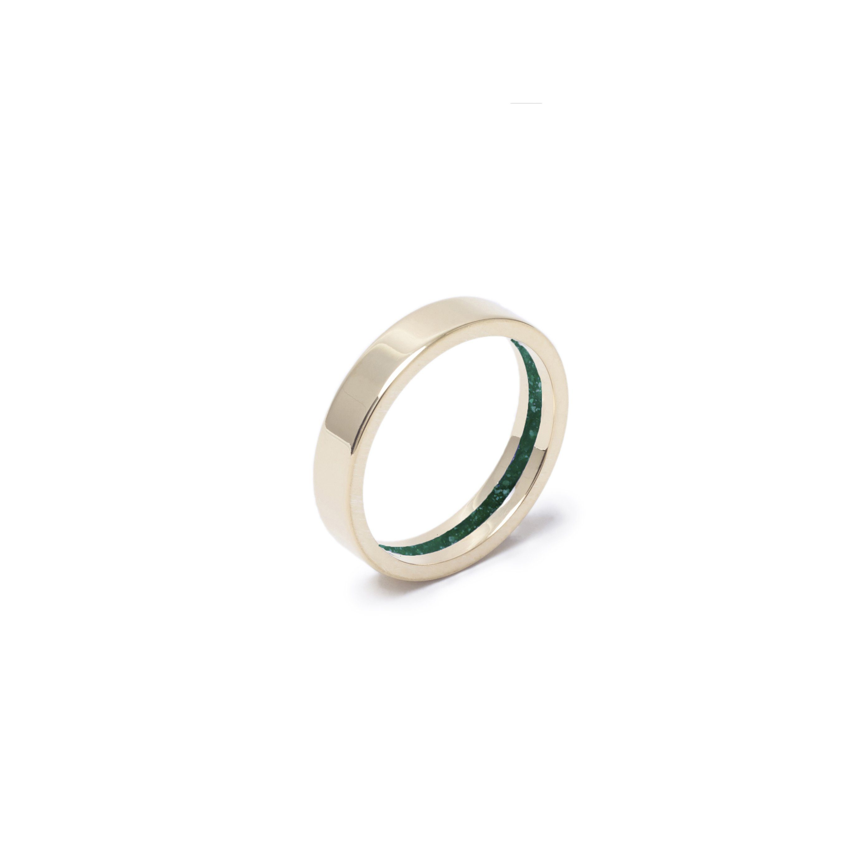 Everence Ring, 10k Yellow Gold everence.life 4mm Emerald