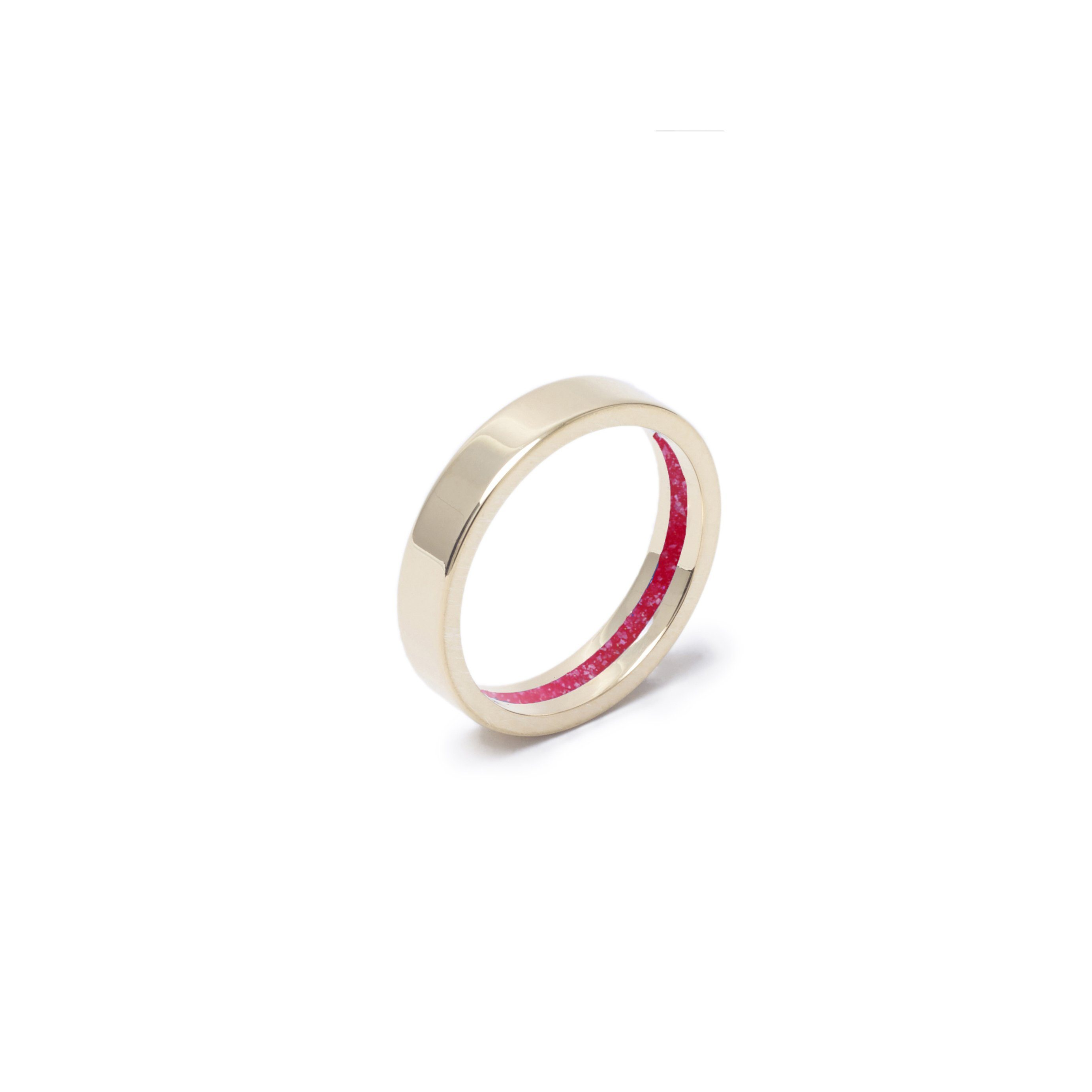 Everence Ring, 10k Yellow Gold everence.life 4mm Scarlet