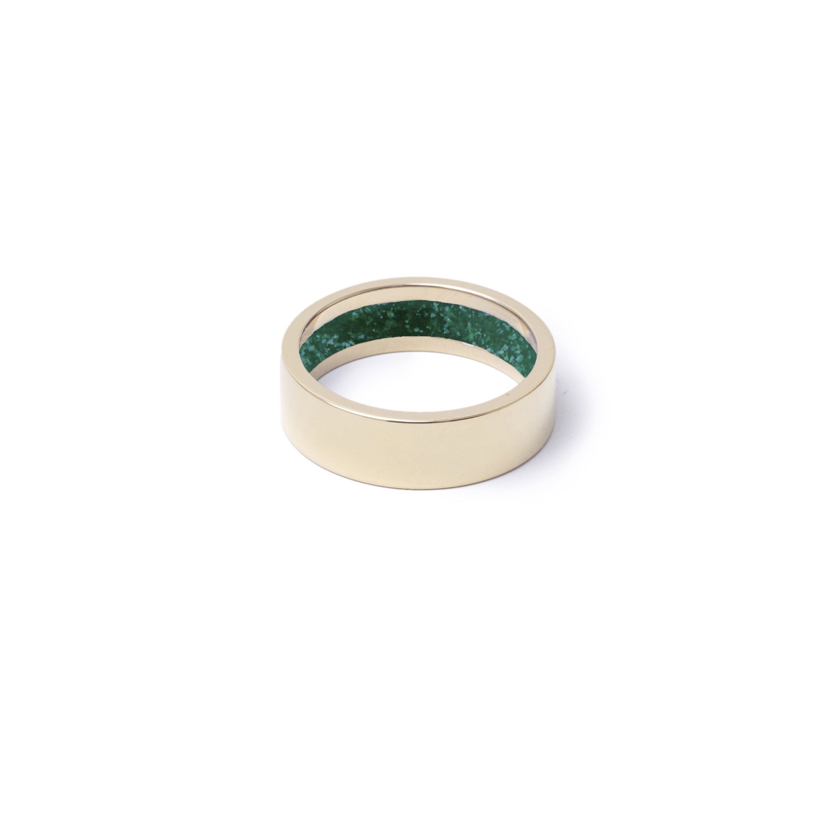 Everence Ring, 10k Yellow Gold everence.life 6mm Emerald