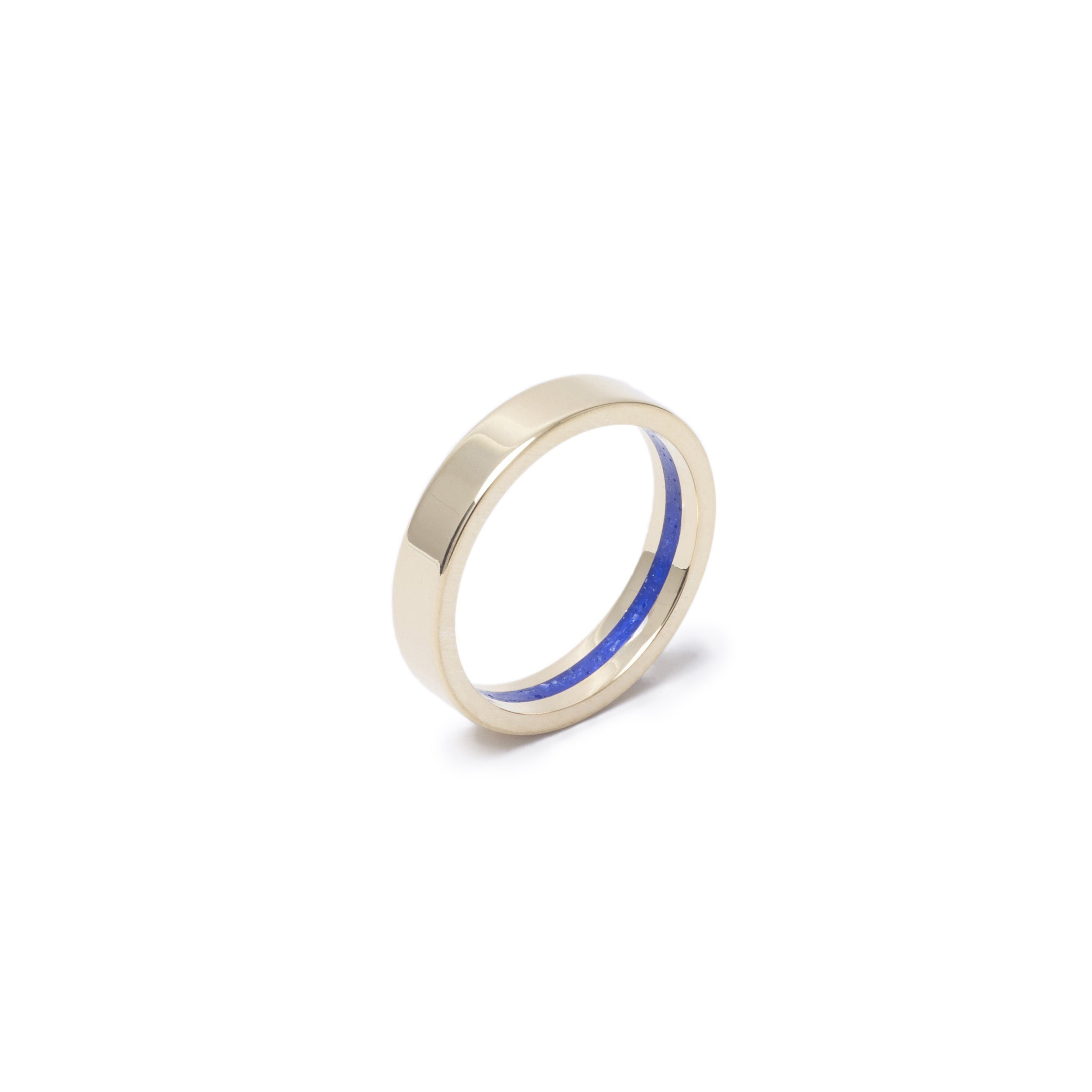 Everence Ring, 10k Yellow Gold everence.life 4mm Sky