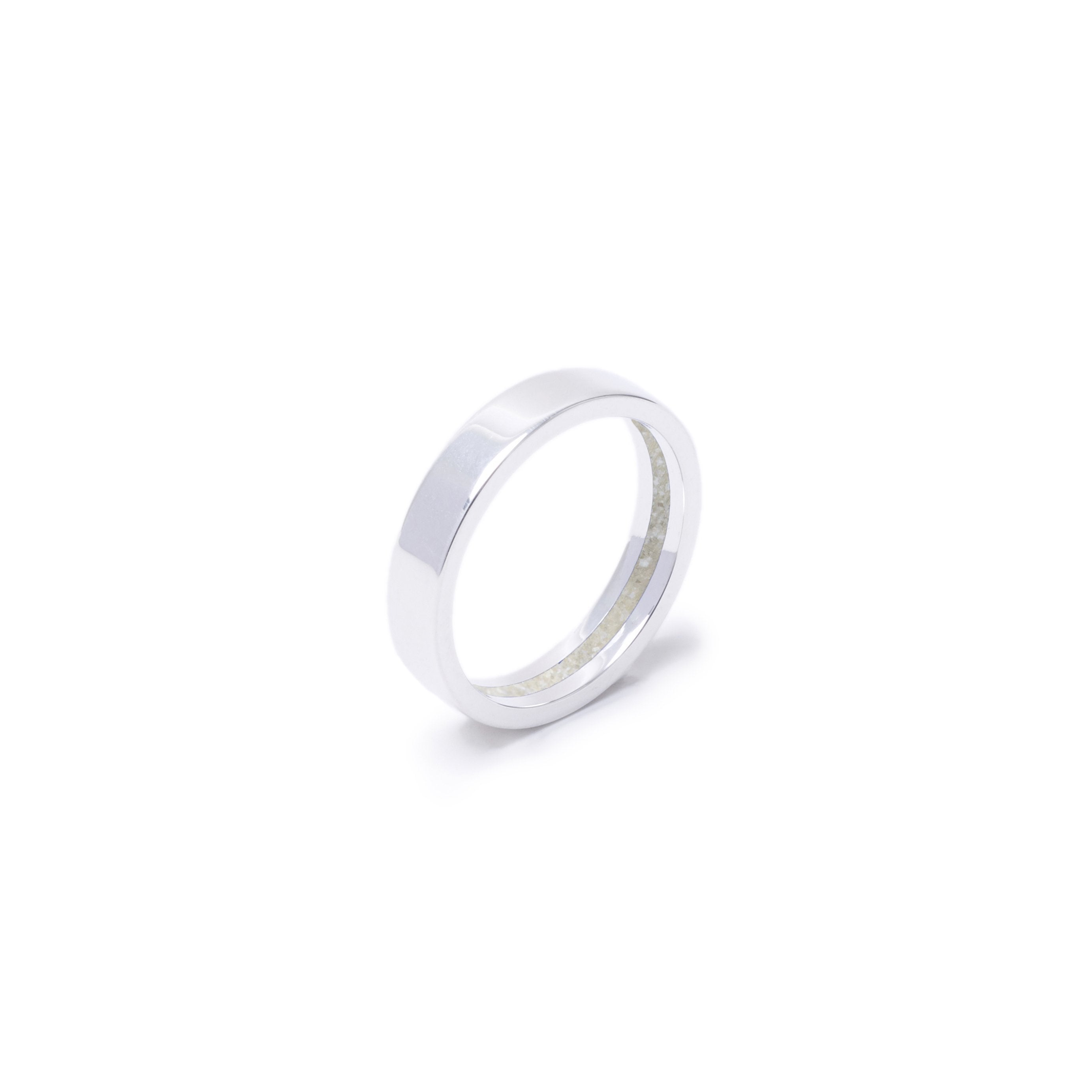 Everence Ring, Sterling Silver everence.life 4mm Pearl