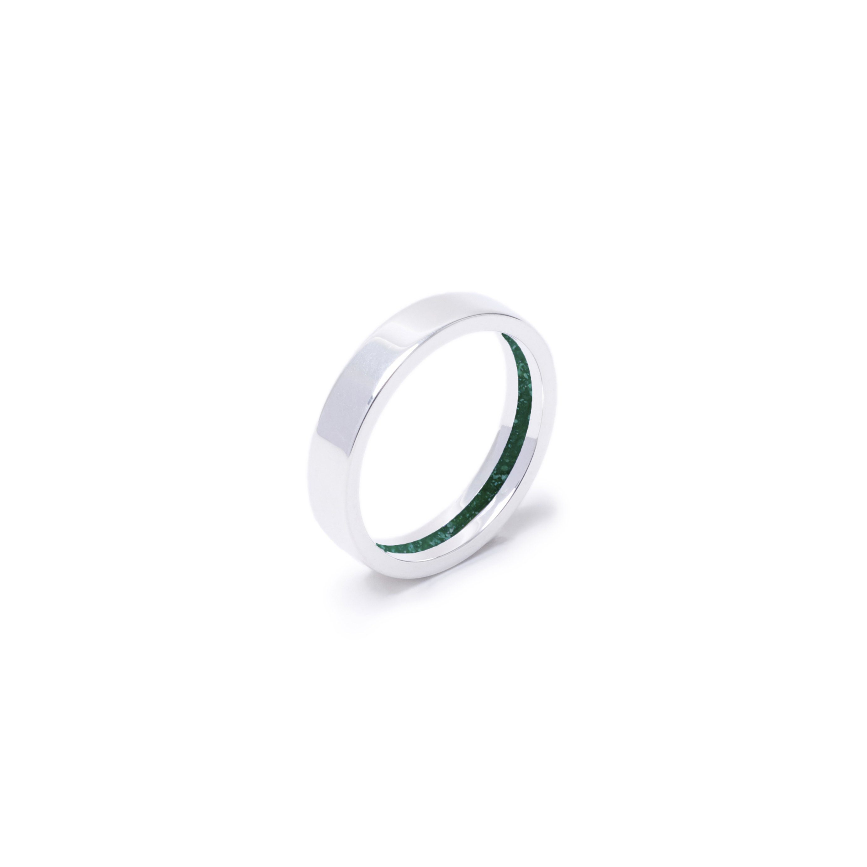 Everence Ring, Sterling Silver everence.life 4mm Emerald