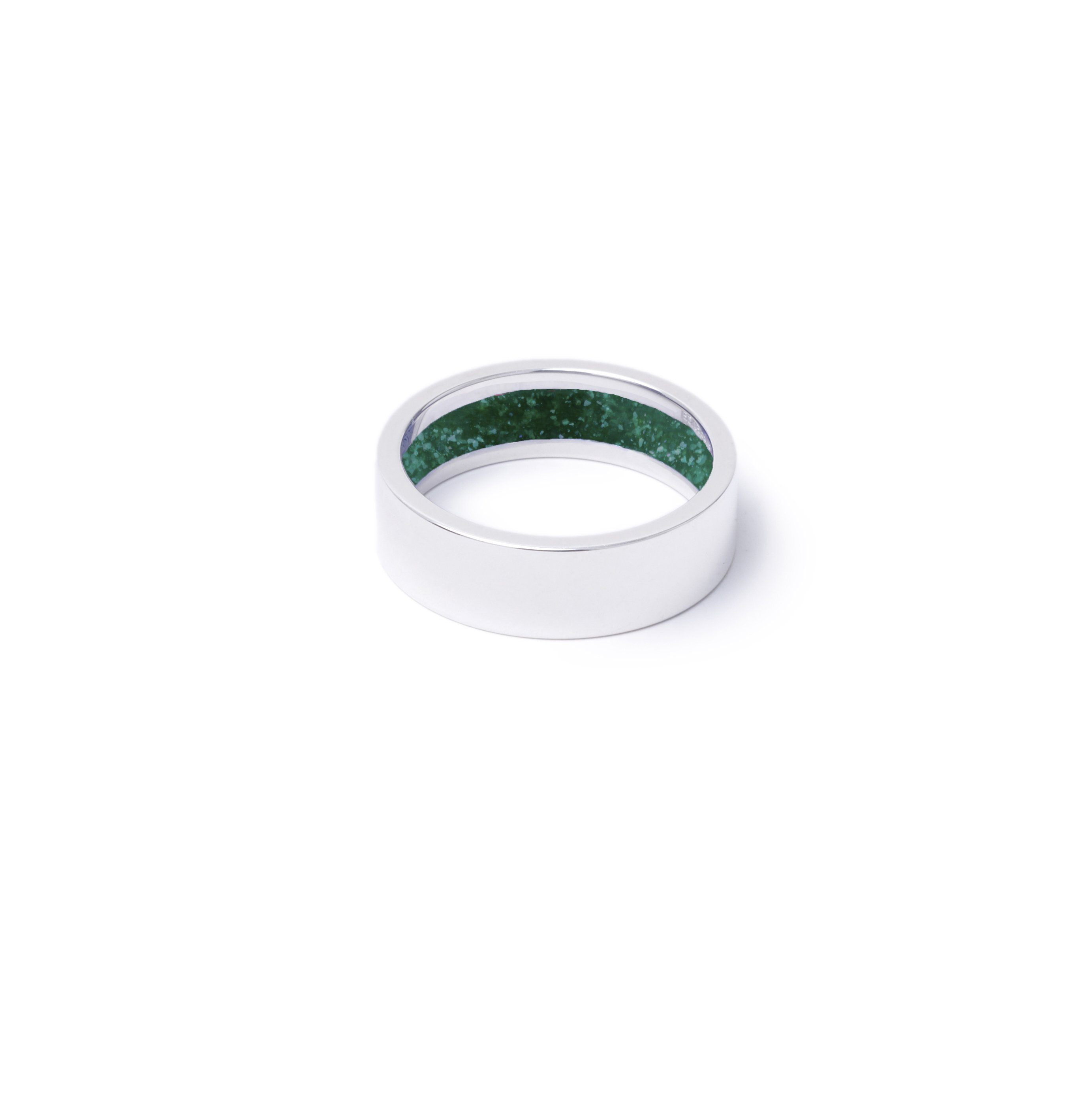 Everence Ring, Sterling Silver everence.life 6mm Emerald