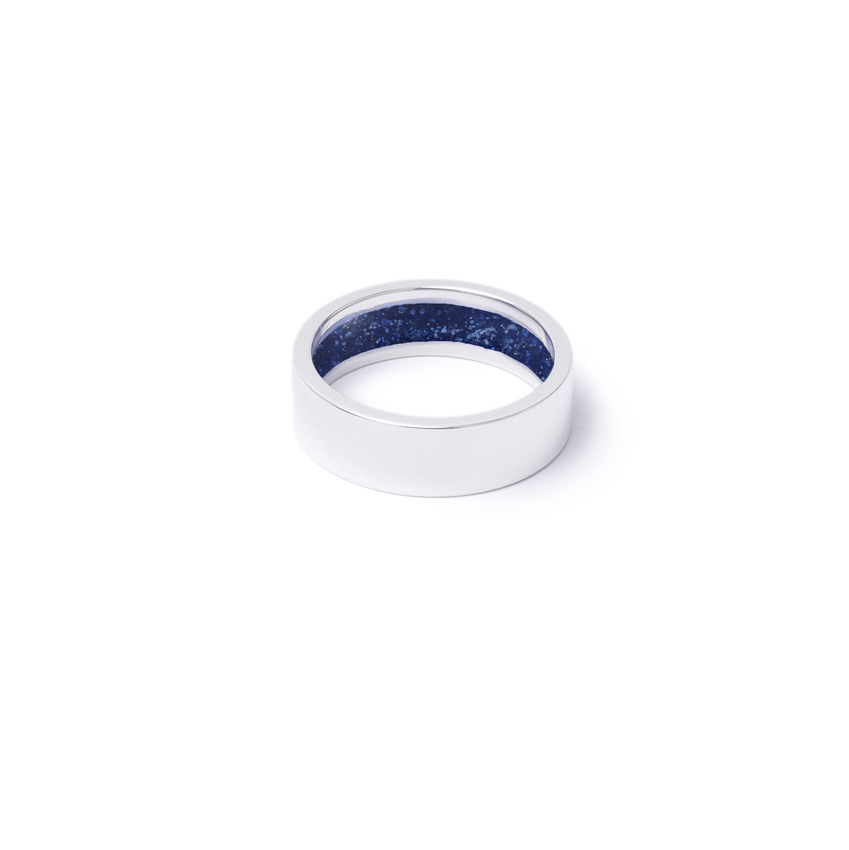 Everence Ring, Sterling Silver everence.life 6mm Navy