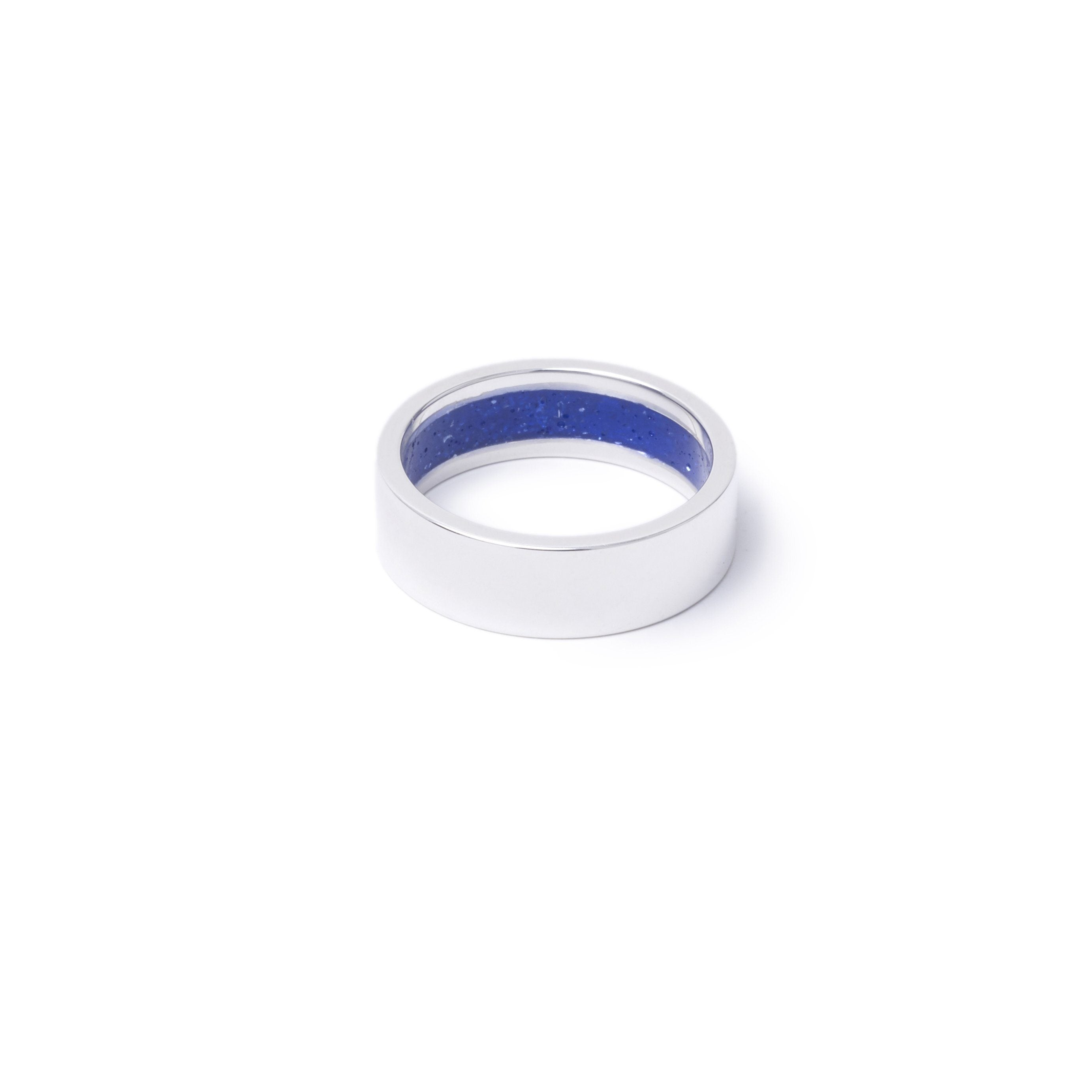 Everence Ring, Sterling Silver everence.life 6mm Sky