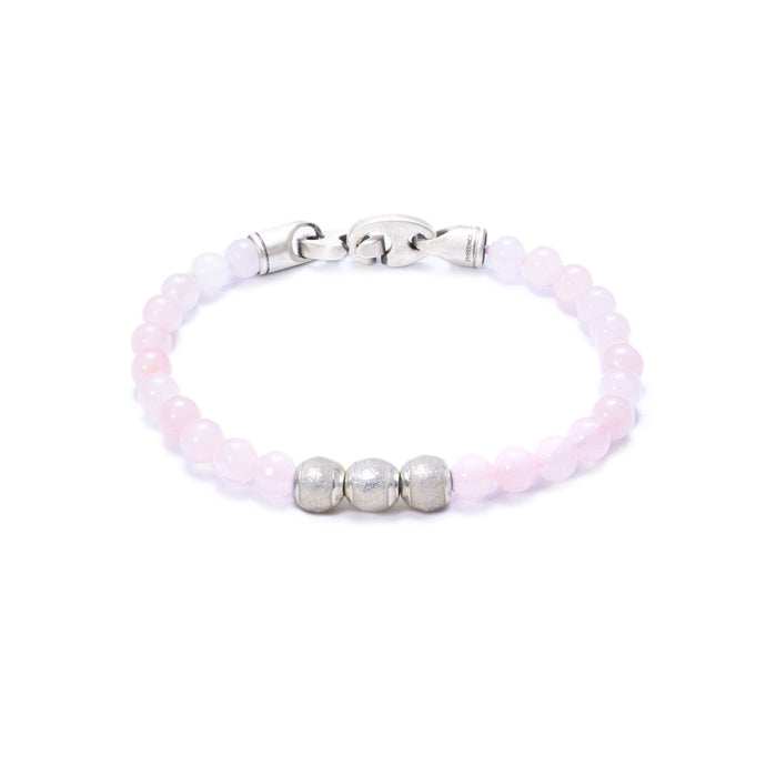Rose Quartz, Three Everence Beads Everence