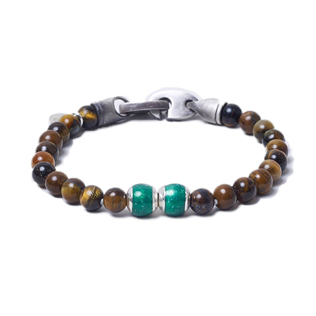 Tiger Eye, Two Everence Beads everence.life