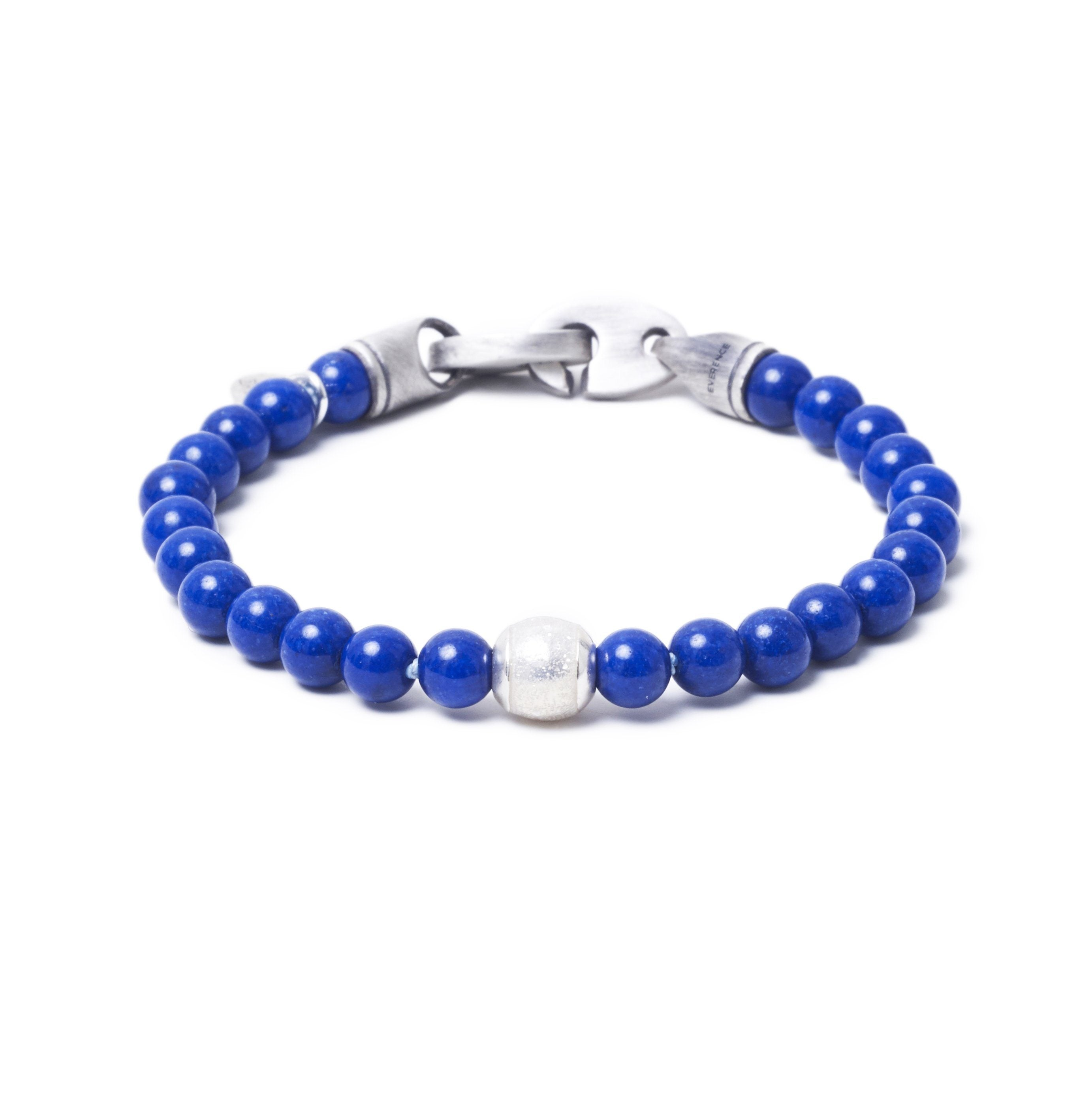 Lapis Lazuli, One Everence Bead everence.life Clear Brummel Hook 7