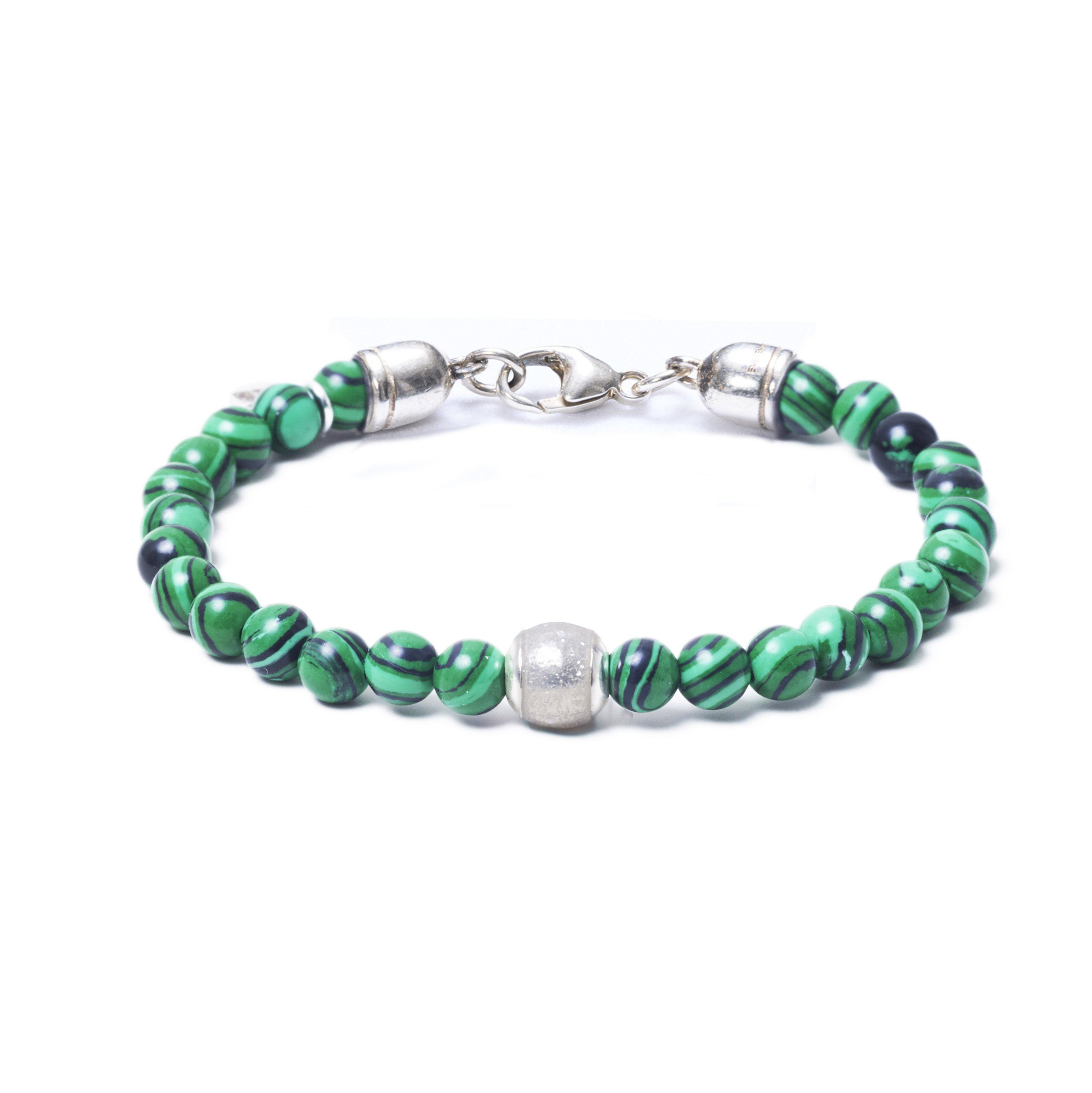 Malachite, One Everence Bead everence.life Clear Lobster Claw 7