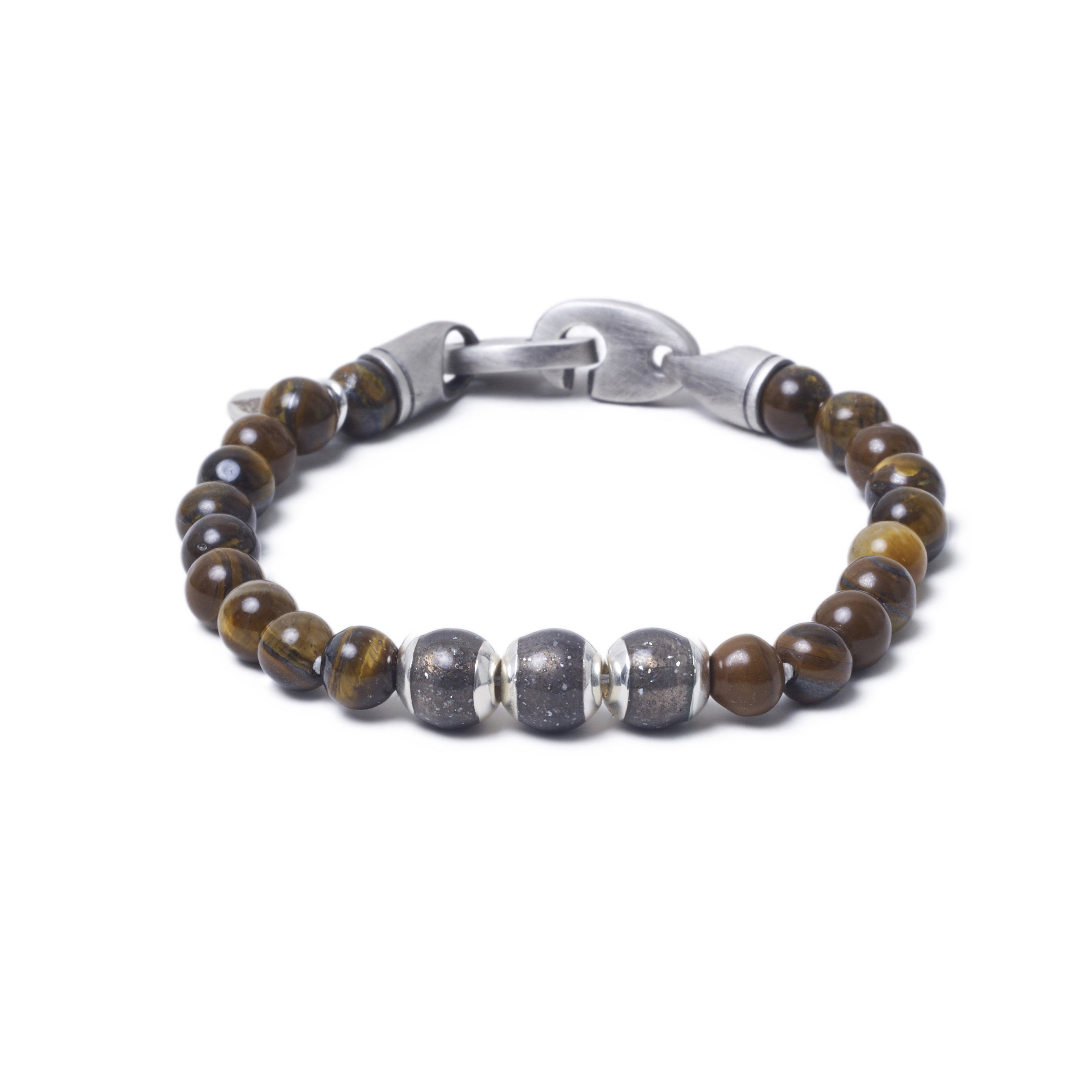 Tiger Eye, Three Everence Beads