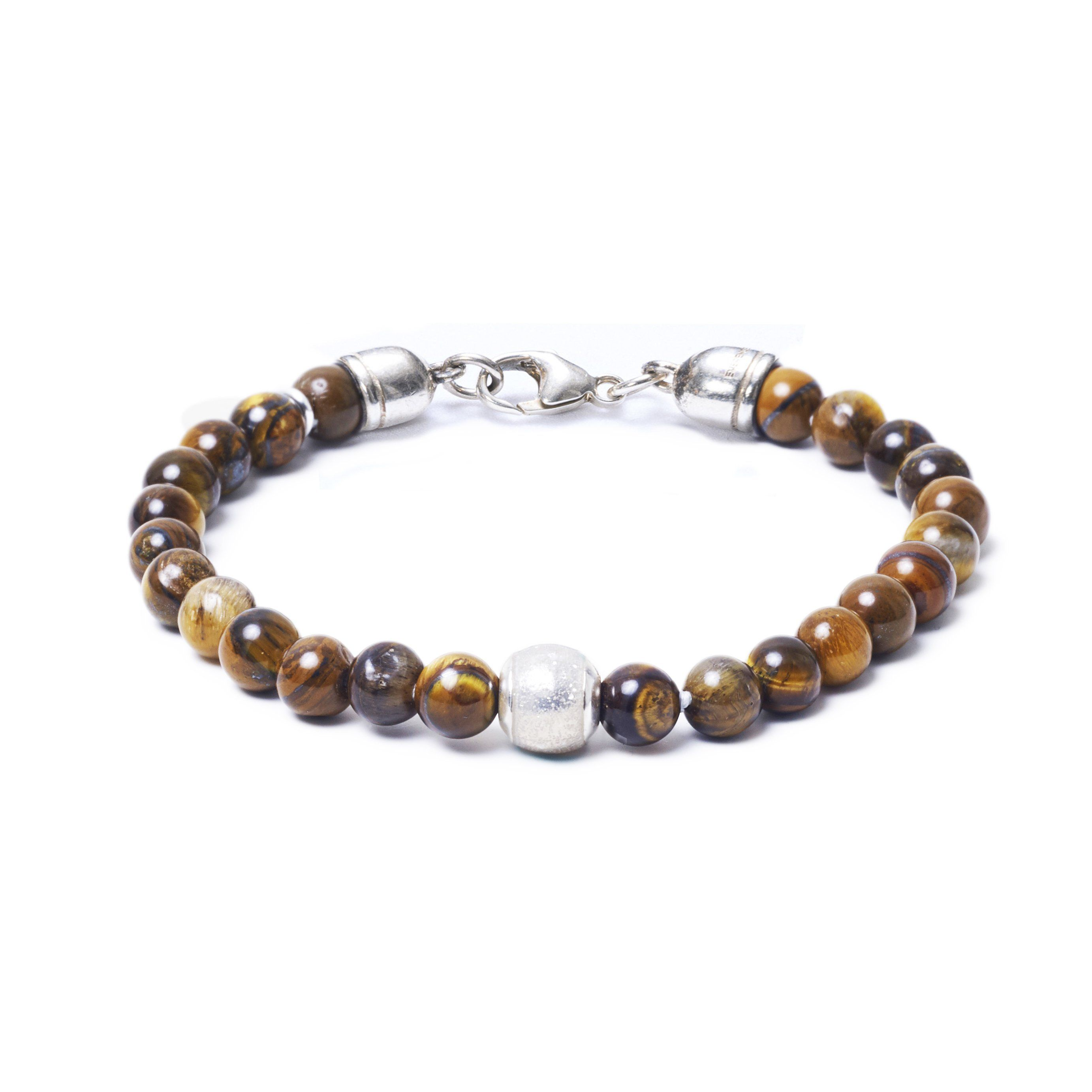 Tiger Eye, One Everence Bead everence.life Clear Lobster Claw 7