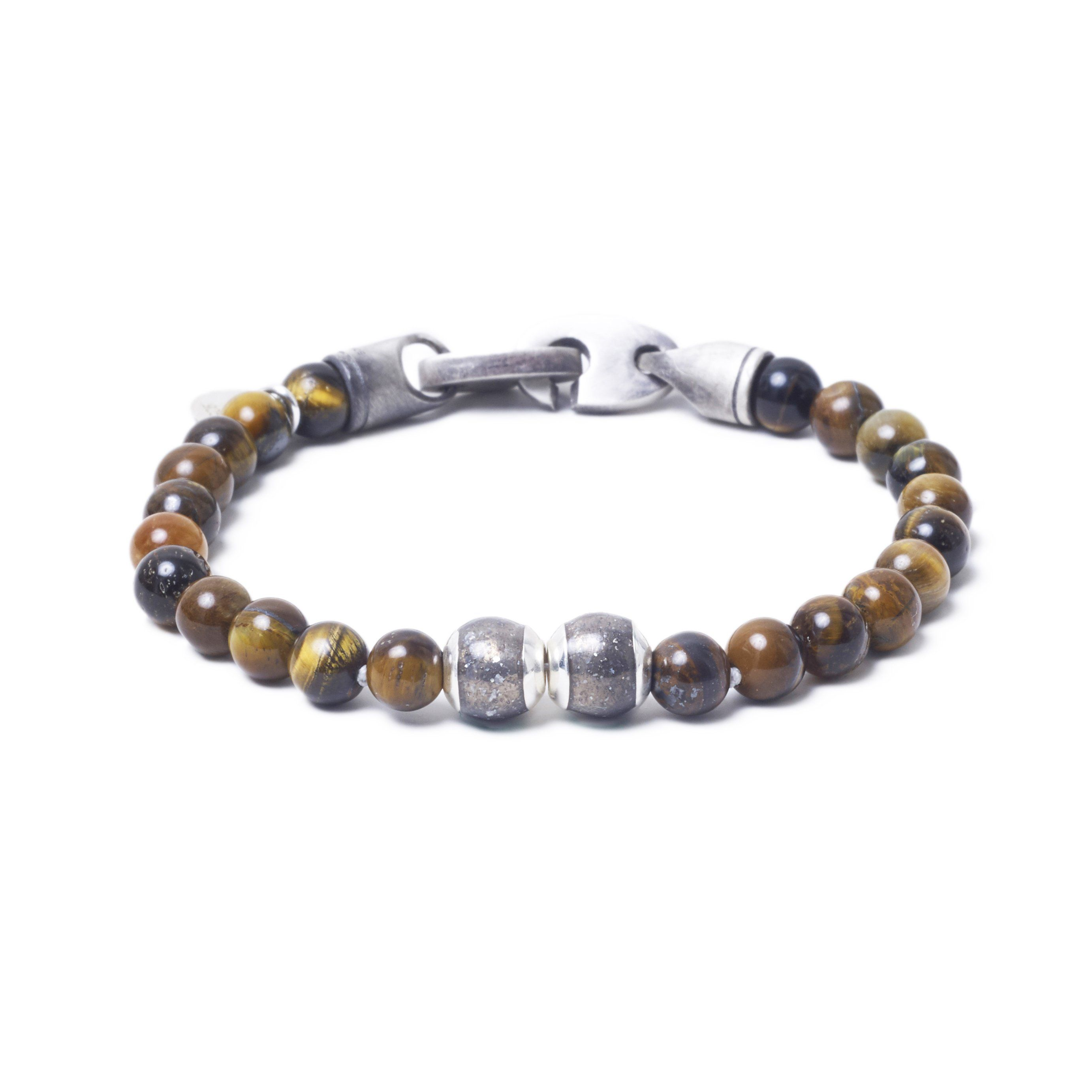Tiger Eye, Two Everence Beads