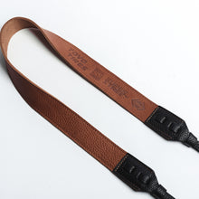 SS X Toyo Tires Camera Straps - Tan/black Leather